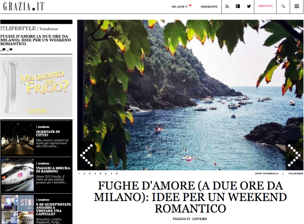 we are lovers su grazia