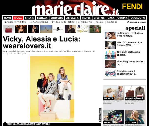 we are lovers su marieclaire